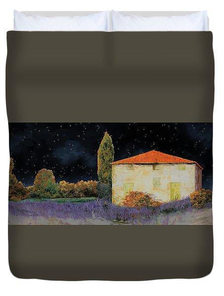 La Casa Tra Le Lavande Duvet Cover