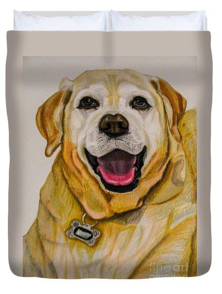 Labrador Retriever Drawing Duvet Cover