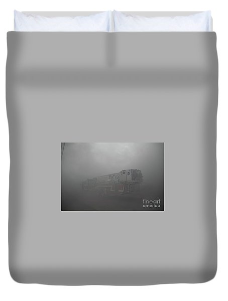 Ladder 5 At A Worker Duvet Cover