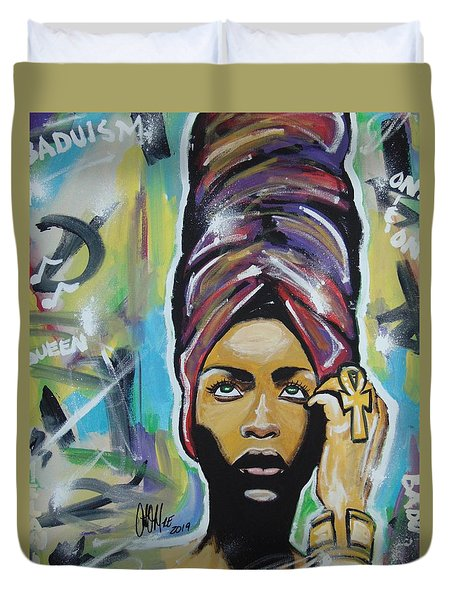 Lady Badu Duvet Cover