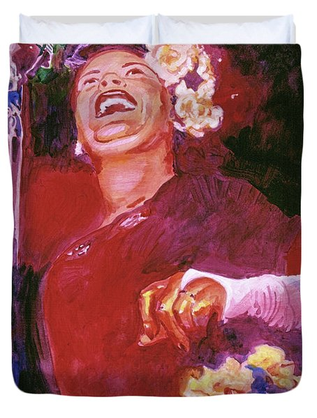 Lady Day - Billie Holliday Duvet Cover