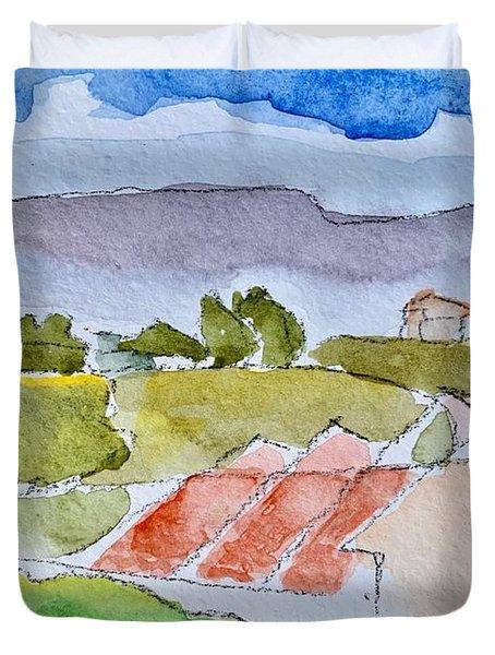 Laguna Del Sol #4 Duvet Cover