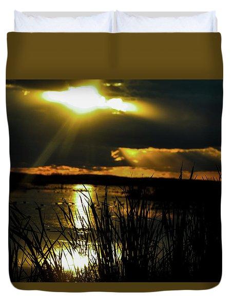 A Spiritual Awakening Duvet Cover