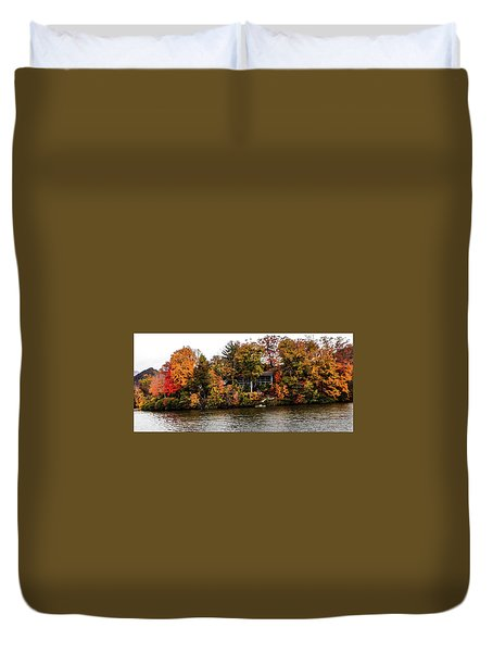 Lake Colors Duvet Cover
