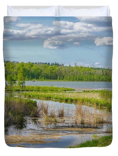 Lake Itasca Beauty Duvet Cover