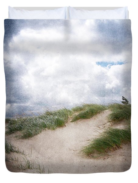 Lake Michigan Sand Dunes Duvet Cover