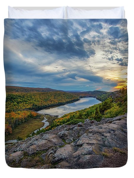 Lake Of The Clouds 4  Duvet Cover