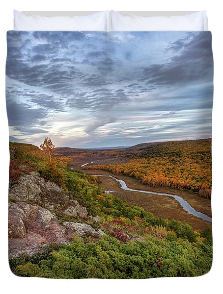Lake Of The Clouds 5 Duvet Cover