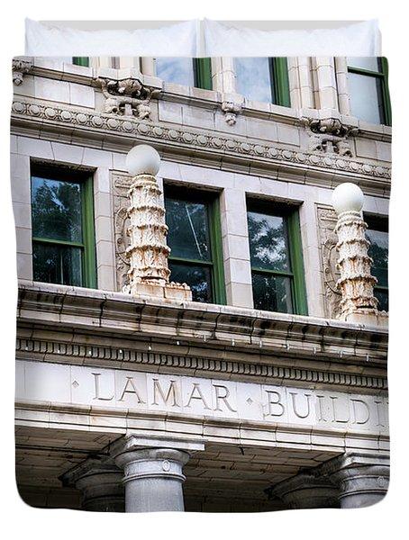 Lamar Building - Augusta Ga Duvet Cover