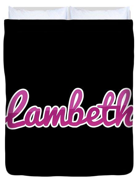Lambeth #lambeth Duvet Cover