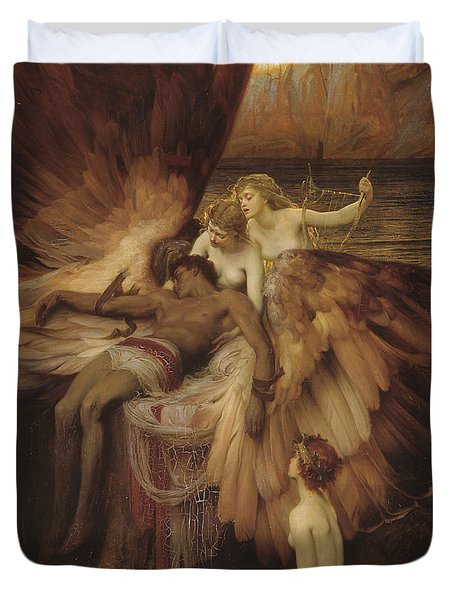 Lament Of Icarus Duvet Cover
