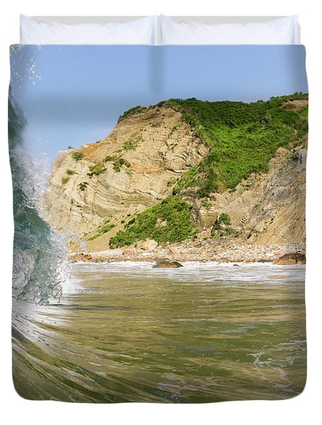 Land And Sea Duvet Cover