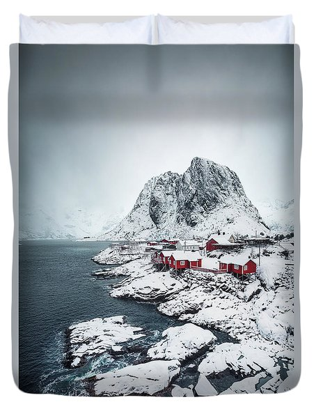 Land Of A Thousand Winters Duvet Cover
