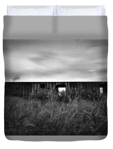 Land Of Decay Duvet Cover