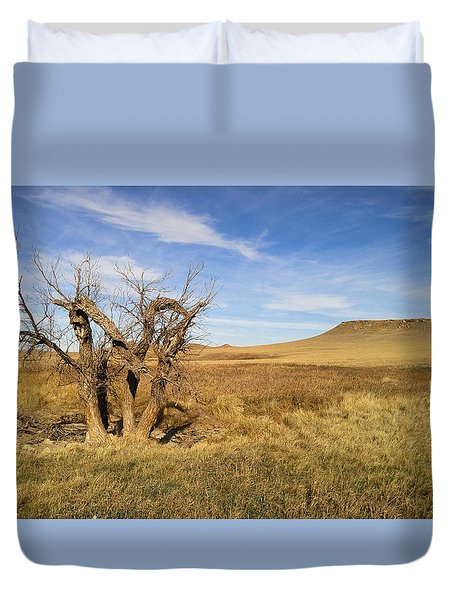 Last Stand Duvet Cover