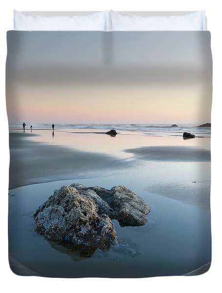 Late Summer Vacation Duvet Cover