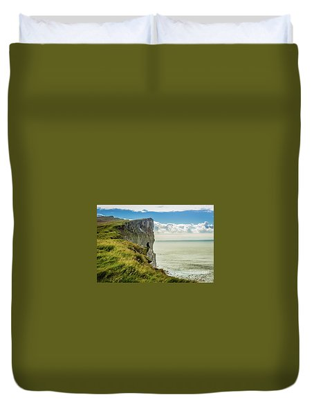 Latrabjarg Cliffs, Iceland Duvet Cover