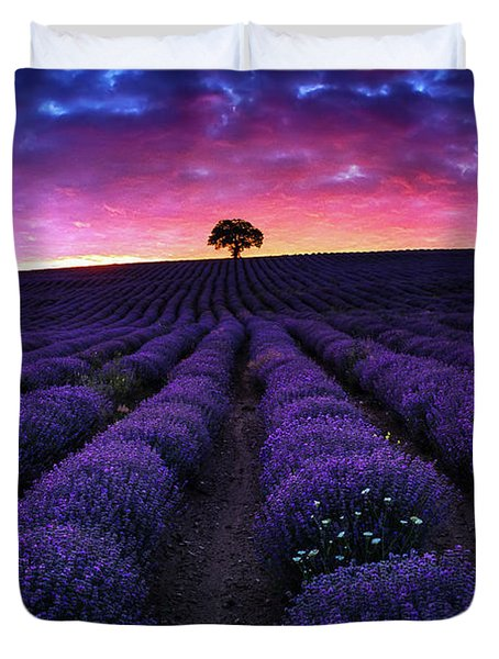 Lavender Dreams Duvet Cover