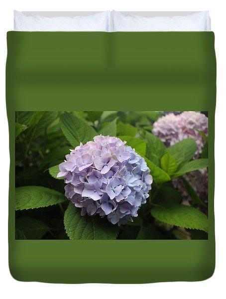 Lavender Hydrangea, Cape May Duvet Cover