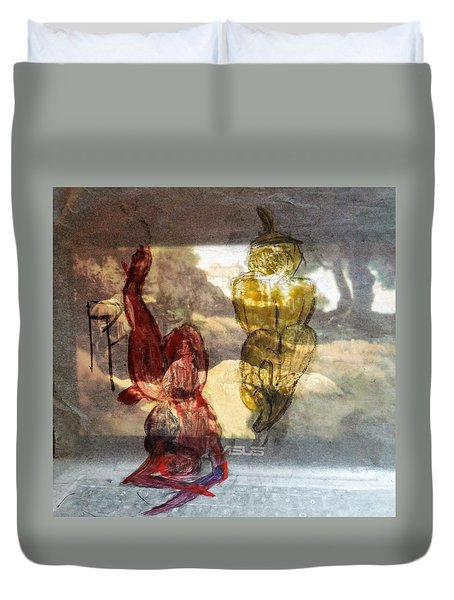Laying Your Psychopathic Soul Bare Duvet Cover