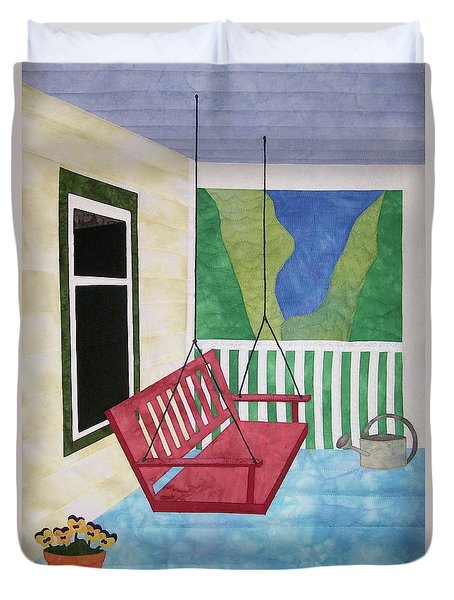 Lazy Summer Afternoon Duvet Cover