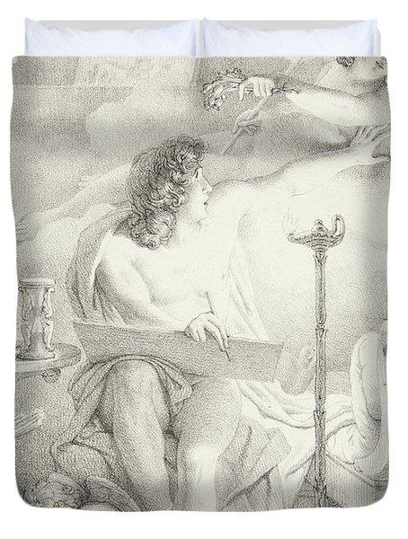 Le Vigilant, 1816 Duvet Cover