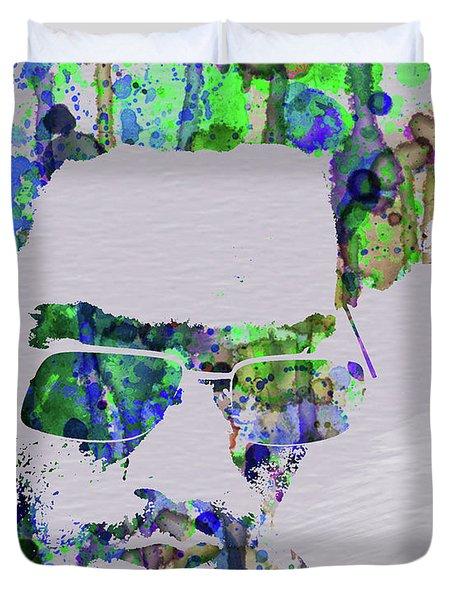 Legendary Lenny Watercolor II Duvet Cover