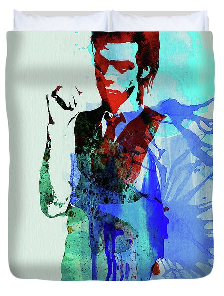 Legendary Nick Cave Watercolor Duvet Cover