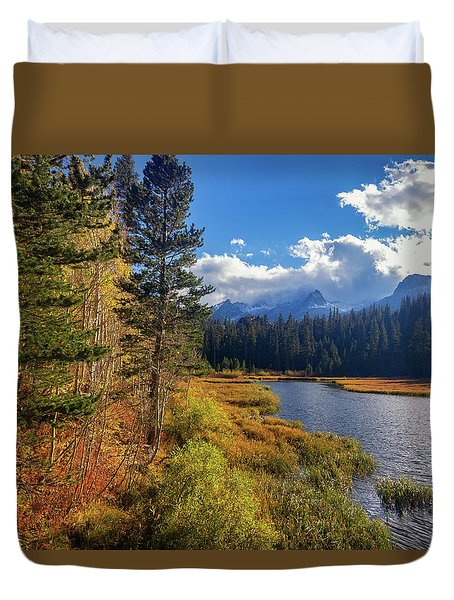 Legends Of The Fall Duvet Cover