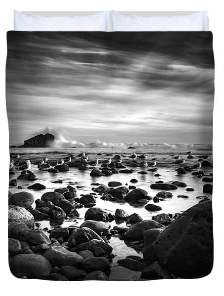 Leo Carrillo Light Duvet Cover
