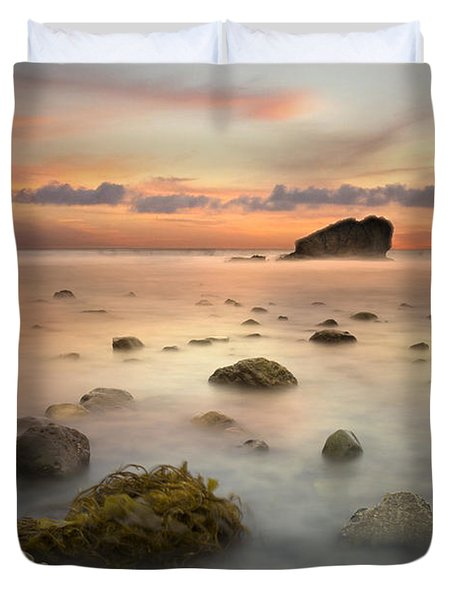 Malibu Sunset Duvet Cover