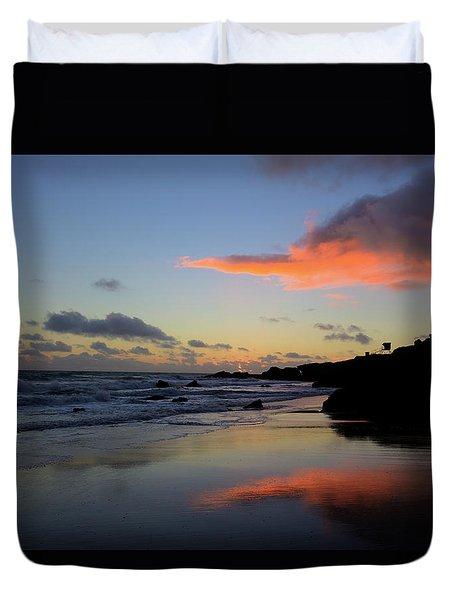 Leo Carrillo Sunset II Duvet Cover