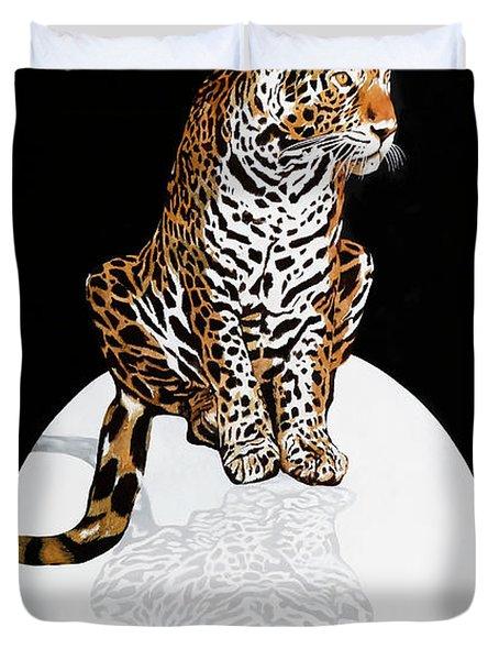 Leopardo Da Vinci Duvet Cover