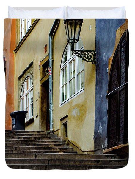 Lesser Town Prague Duvet Cover