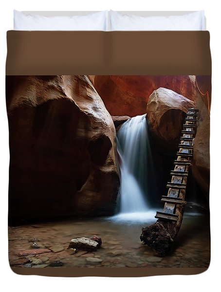 Let It Flow Duvet Cover