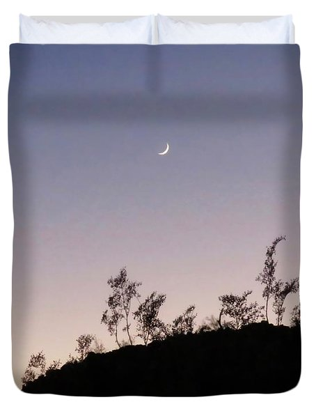 Libra Twilight Crescent Duvet Cover