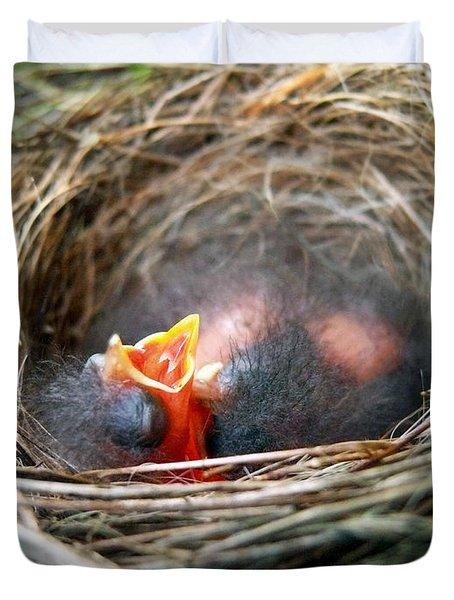 Life In The Nest Duvet Cover