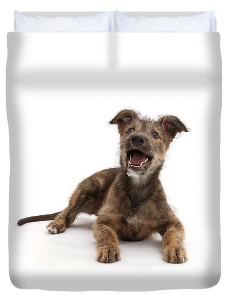 Duvet Cover featuring the photograph Life's A Bark by Warren Photographic
