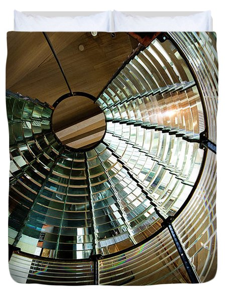 Lighthouse Lens Interior Lewis Duvet Cover