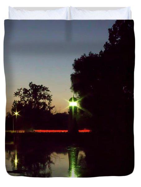 Lighthouse Light Duvet Cover