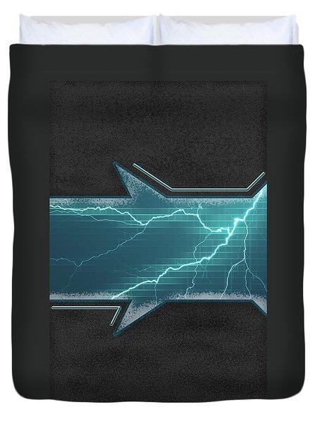 Lightning-centric Duvet Cover