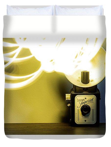 Lights, Camera, Action Duvet Cover