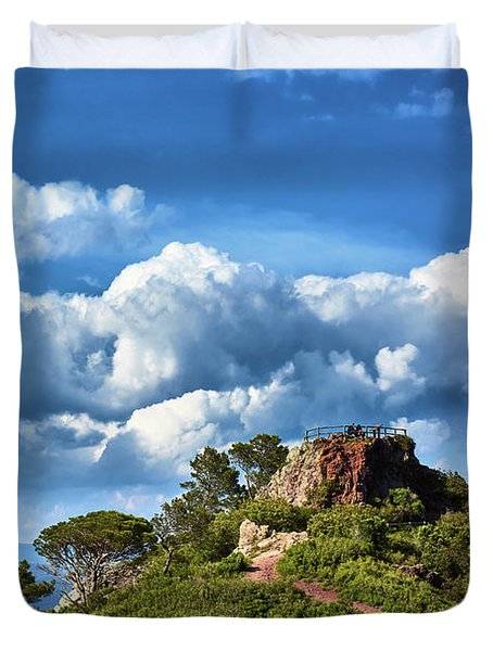 Like Touching The Sky Duvet Cover