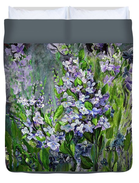 Lilac Dream Duvet Cover