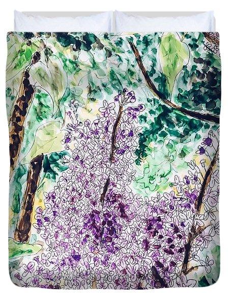 Lilac Dreams Duvet Cover