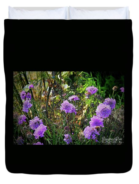 Lilac Jelly Pincushion Duvet Cover