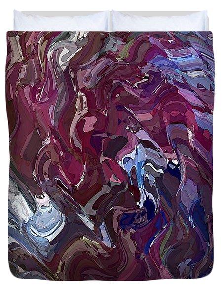 Lilac Oil Duvet Cover
