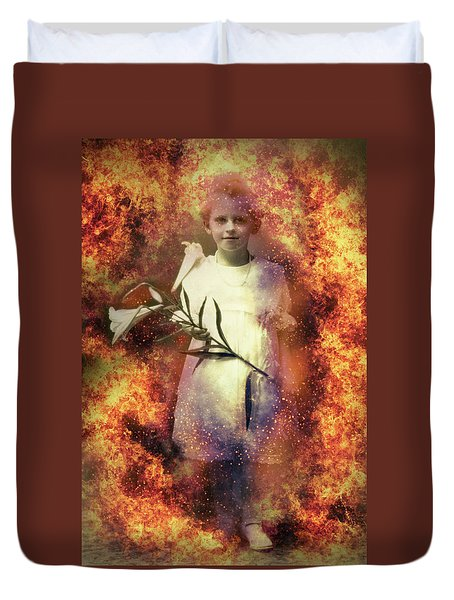 Lilies Of The Apocalypse Duvet Cover