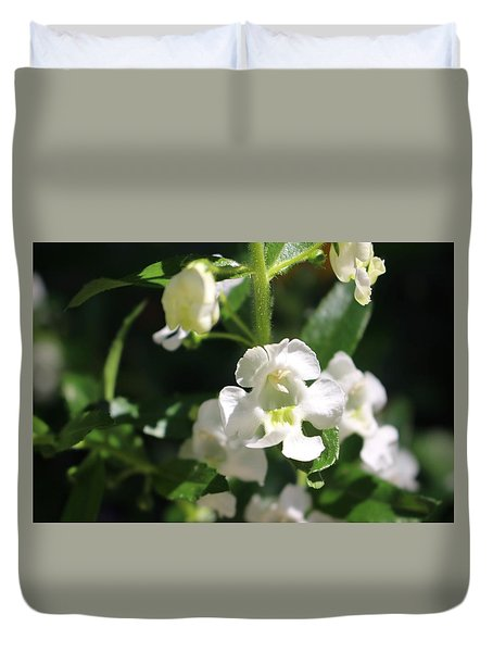 Lily Of The Valley, Cape May Duvet Cover