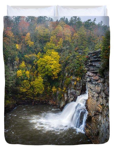 Linville Falls - Linville Gorge Duvet Cover